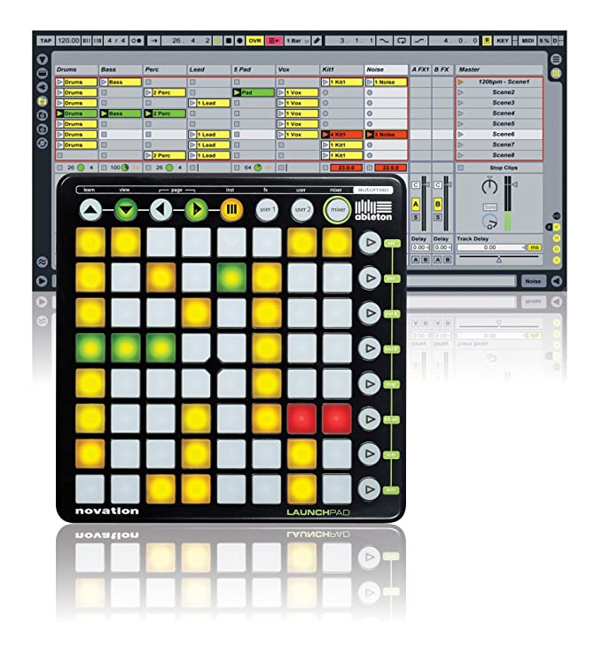 Controlador de música Novation Launchpad (64 teclas): Amazon.es: Instrumentos musicales