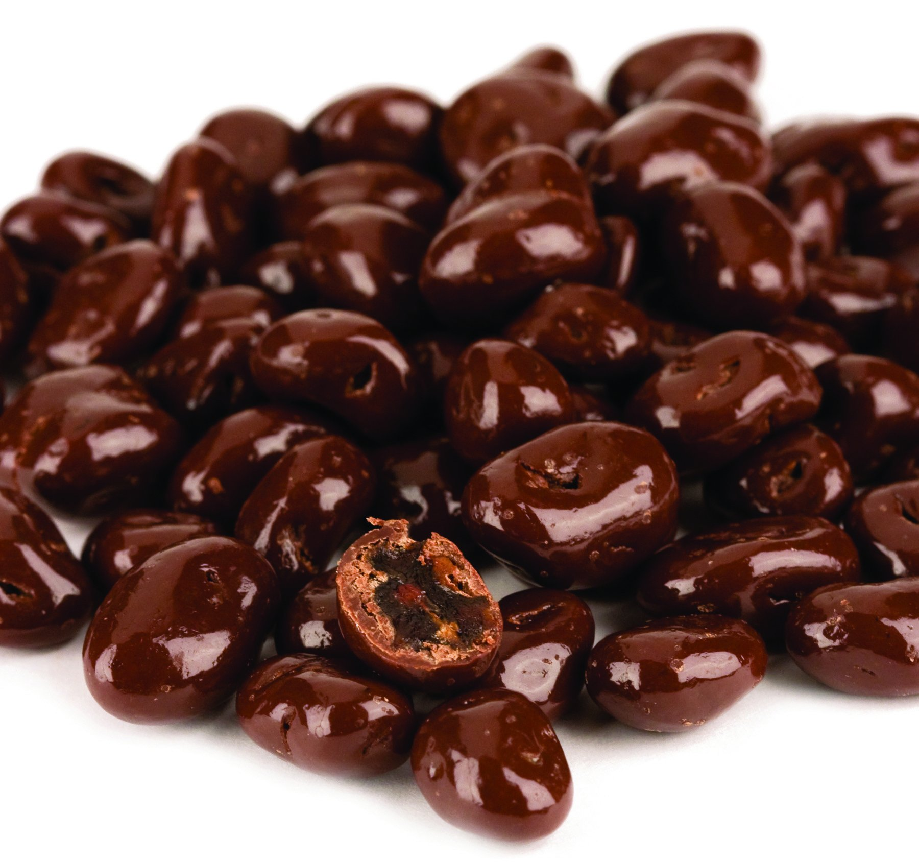 Dark Chocolate Covered Raisins, No Sugar Added, 12 Oz. Bag (Pack of 4) by Kauffman's Fruit Farm