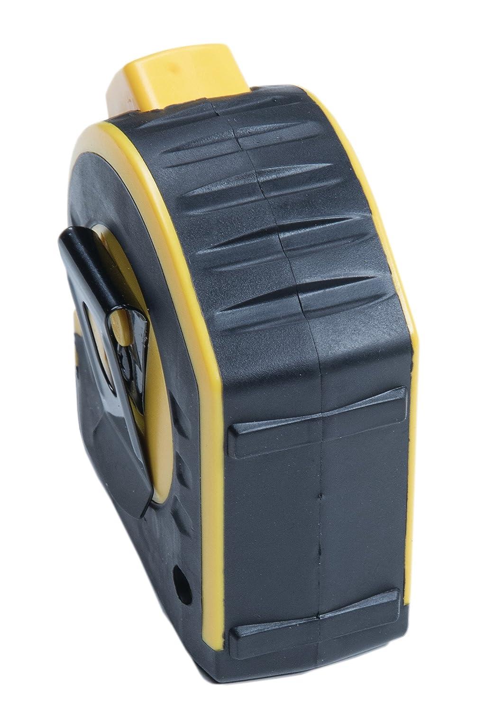 STABILA Taschenbandma/ß BM 40 Bandbreite 25 mm 5 m mit doppelseitiger Skala und Spikes-Haken