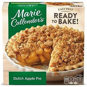 Marie Callender's Dutch Apple Pie Frozen Dessert, 38 Ounce