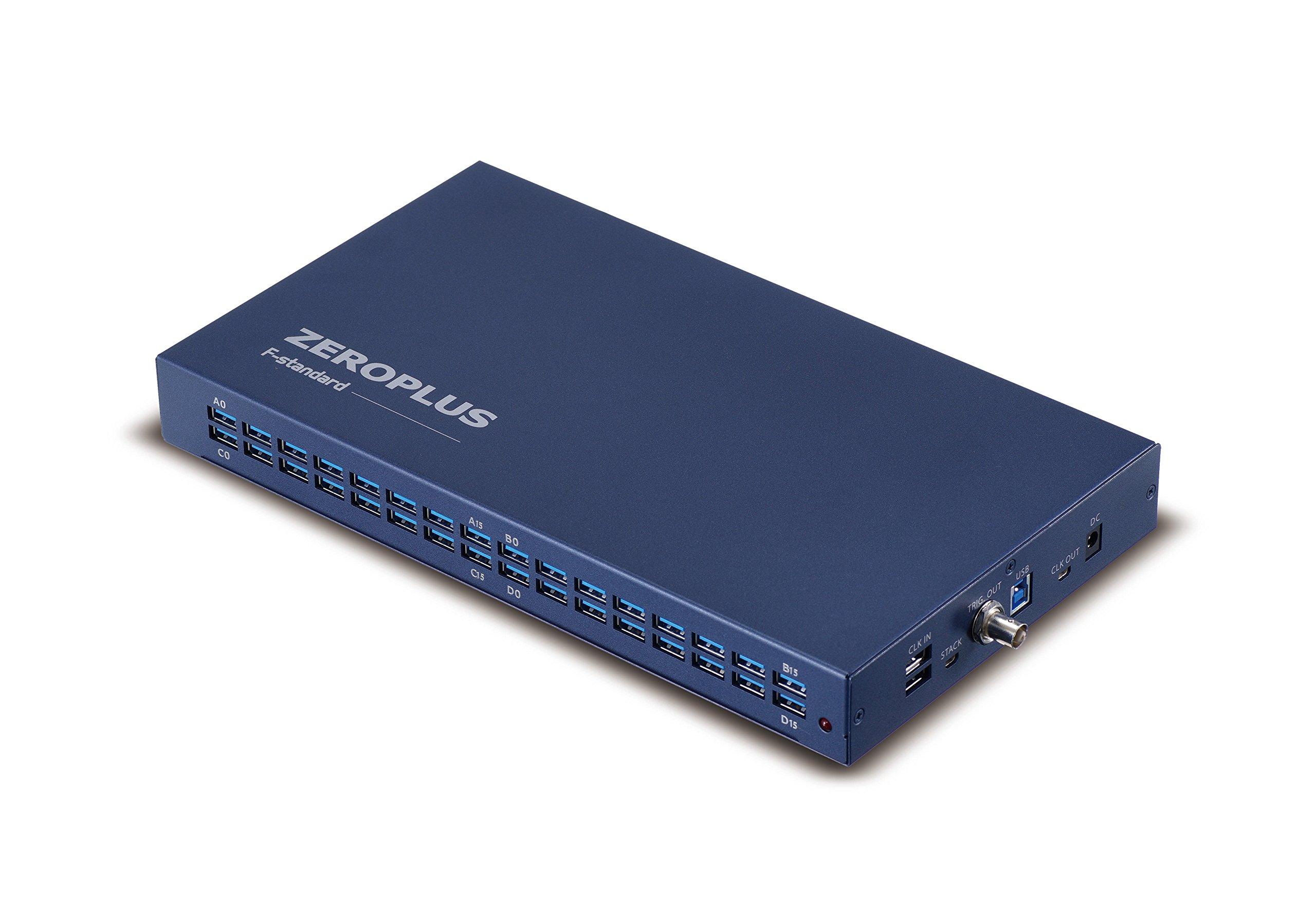 Zeroplus LAP-F1 40-channel 4Mb per channel 1GHz USB 3.0 (USB 2 compatible) Logic Analyzer eMMC 5.1 SD 3.0