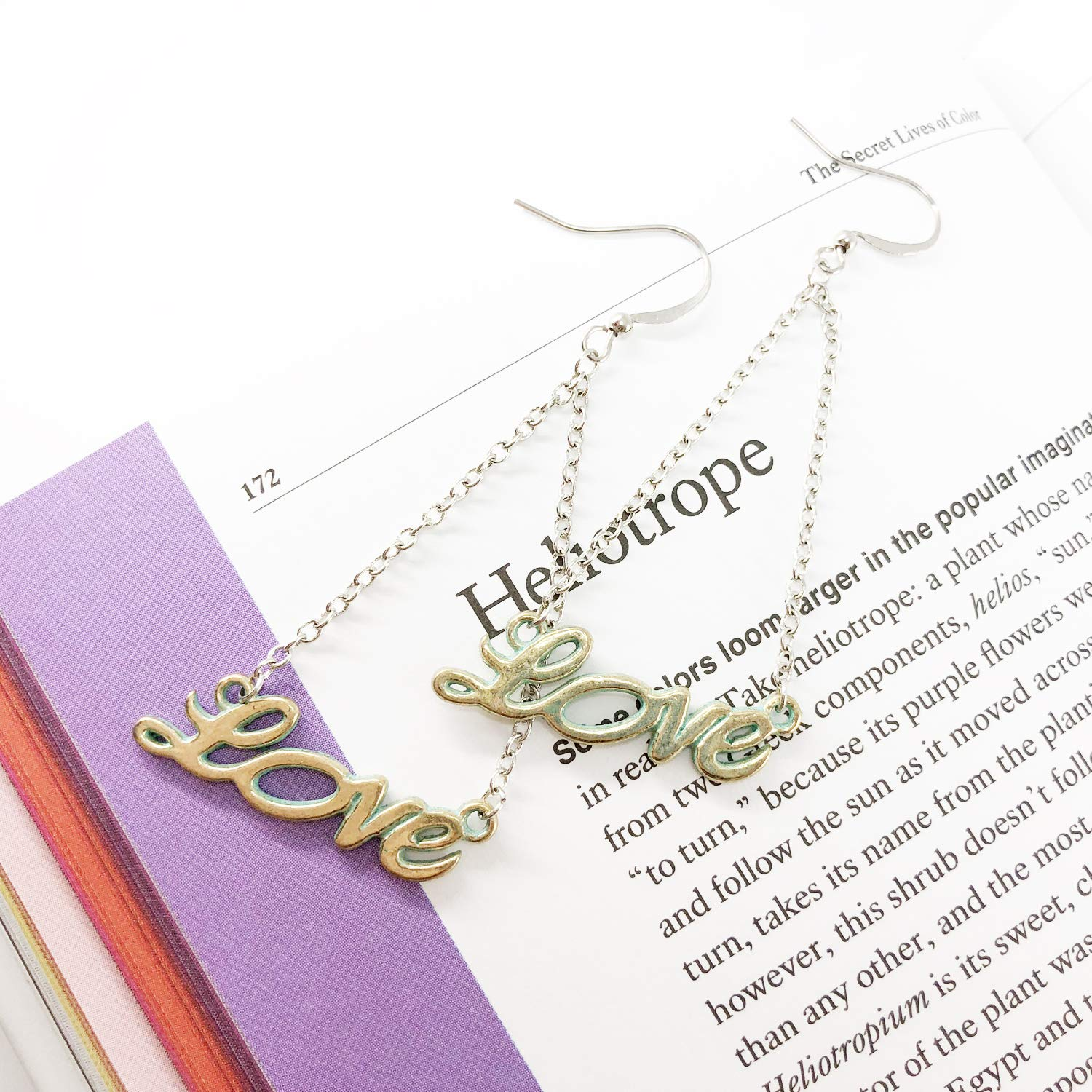 CUTIFICIAL Love Charm Earrings For Women and Girls Clip-on Exchange Available
