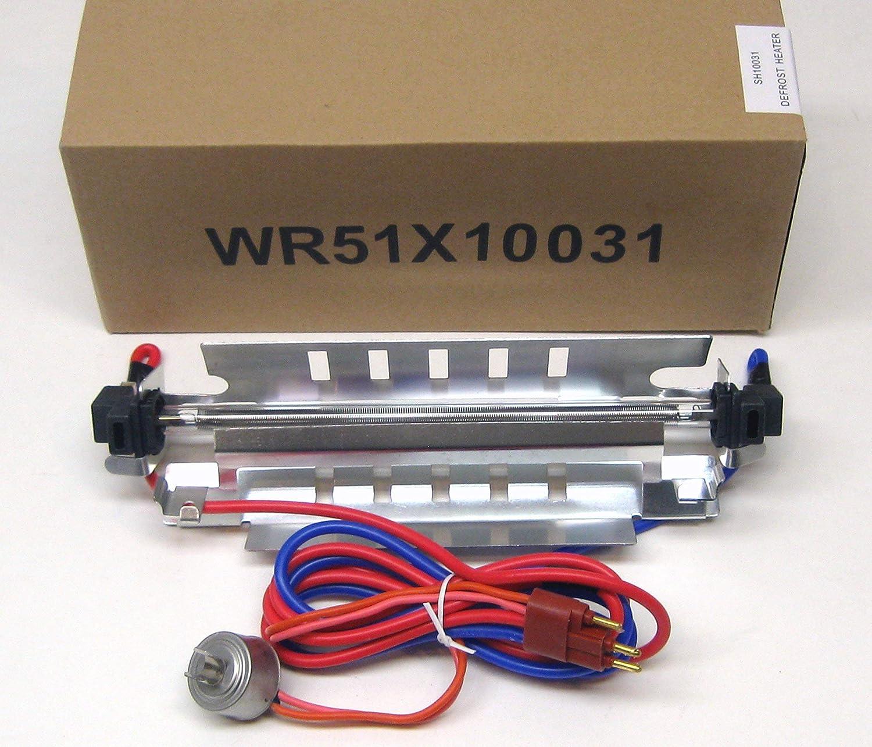 GE WR51X10031 Refrigerator Defrost Heater /& Thermostat Kit