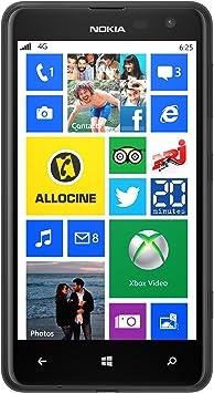 Nokia Lumia 625 - Smartphone (Windows, 8 GB), Color Negro ...