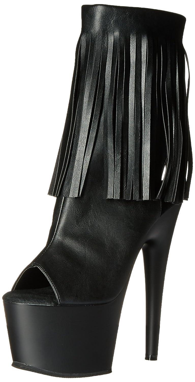 PleaserAdore - Botas Mujer37 EU|Blk Faux Leather/Blk Matte