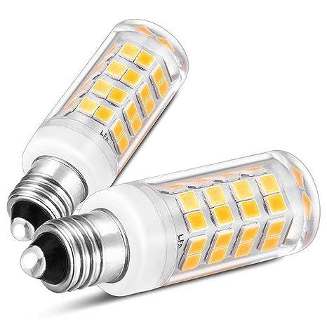 eco-genius E11 Base bombilla LED, 380LM, Mini candelabro ...