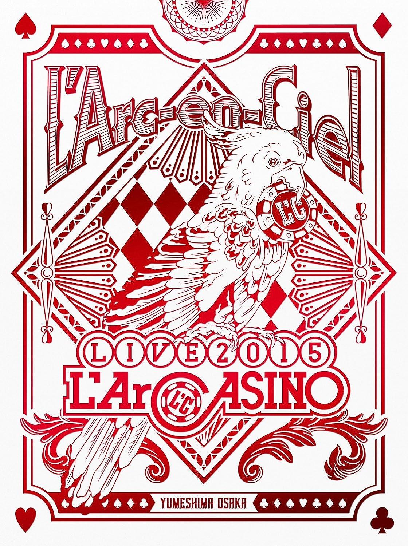 L'Arc-en-Ciel LIVE 2015 L'ArCASINO(初回生産限定盤)(BD+2CD) [Blu-ray] B01MR43WYS