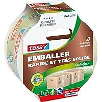 Tesa 58226-00000-00 Emballer Rapide et très solide verpakkingstape, milieuvriendelijk wit