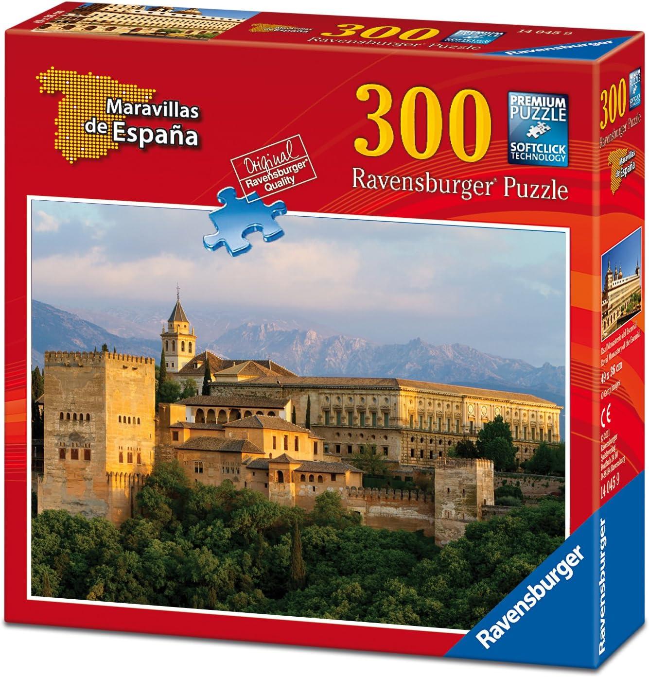 Ravensburger - Maravillas de España: La Alhambra, Puzzle de 300 Piezas (14047 3): Amazon.es: Juguetes y juegos