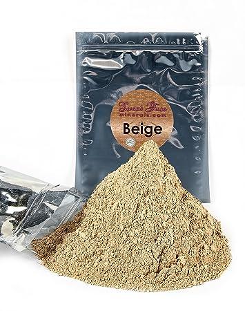 Bulk Refill Mineral Foundation (BEIGE) Makeup Powder Matte Bare Skin Sheer SPF 15 Cover (12 Grams)