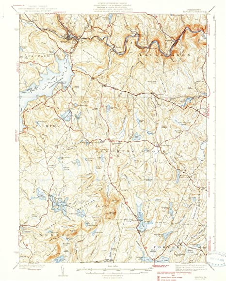 Amazon com : YellowMaps Hawley PA topo map, 1:62500 Scale