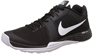 NIKE Men's Train Prime Iron DF Cross Training Shoe, Black/White/Anthracite/