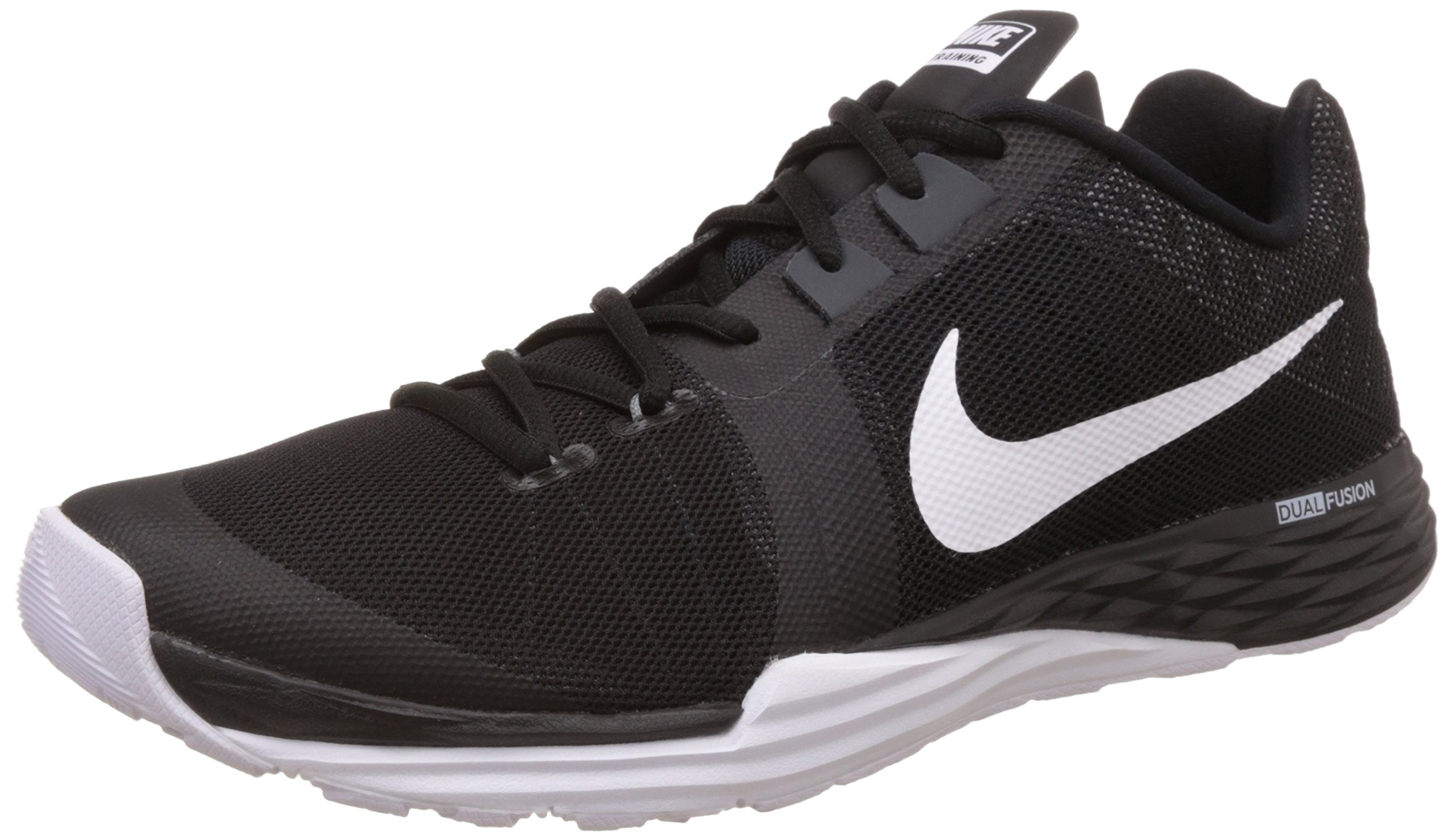 NIKE Men's Train Prime Iron DF Cross Training Shoe, Black ...