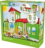 BRIO 33941 - Village Familienhaus, bunt