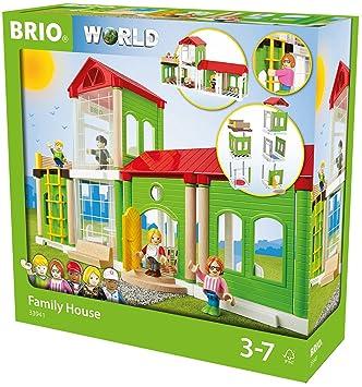 Amazon Com Brio Family Home Playset Toys Games