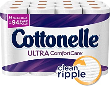 Cottonelle Ultra ComfortCare Family Roll Toilet Paper (36-Rolls)