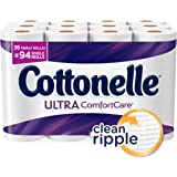 Cottonelle Ultra ComfortCare Family Roll Plus Toilet Paper, Bath Tissue, 36 Toilet Paper Rolls