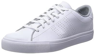 Adidas Neo Chiara Uomini Al Giorno Linea Ftwr Bianco E Chiara Neo Di Pelle Grigia 6b7402