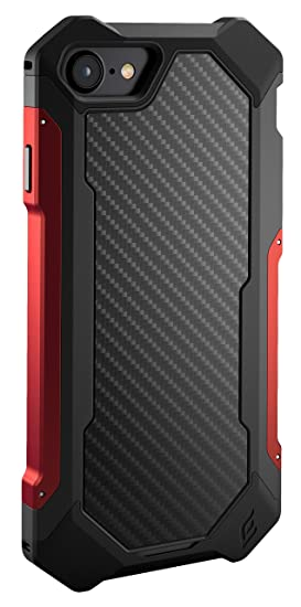 cheap for discount 4838d 5c388 Element Case Sector Mil-Spec Drop Tested Case for Apple iPhone 8 and 7 -  Red (EMT-322-133DZ-29)