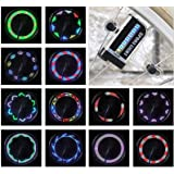 LED Bike Wheel Lights - Waterproof Bicycle Wheel Lights, Ultra Bright Bike Spoke Lights Bike Tire Lights, Safety Adult…
