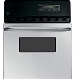 "GE JRP20SKSS 24"" Stainless Steel Electric Single Wall Oven"
