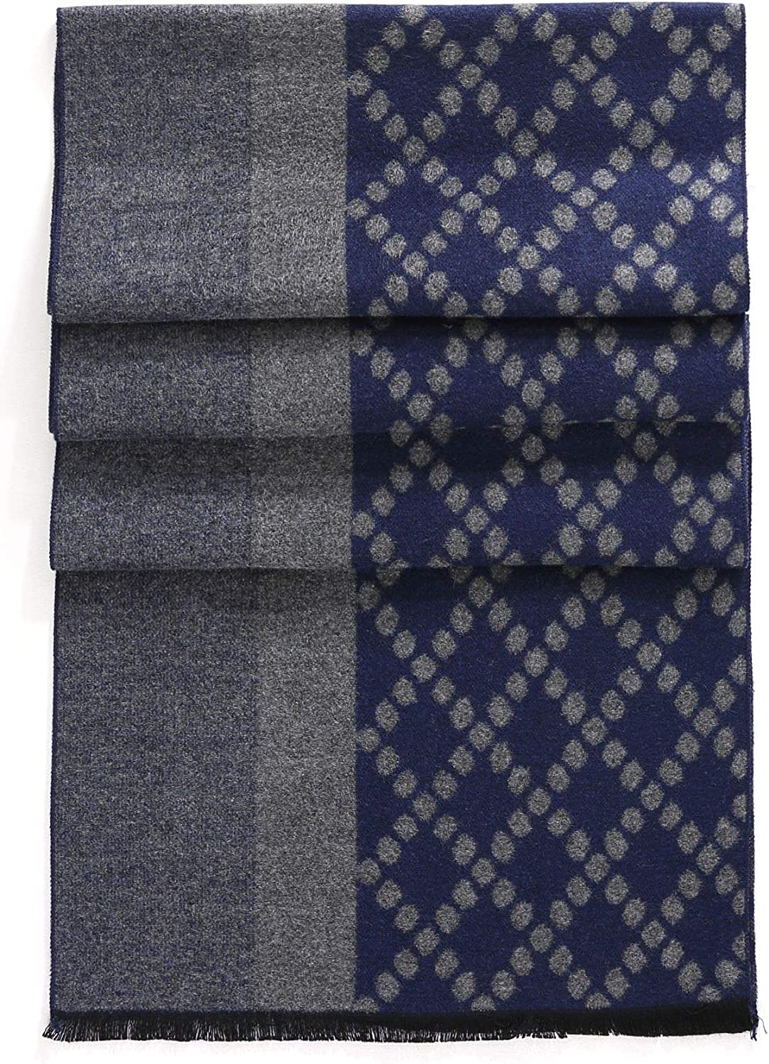 Cotton Scarves for Winter FULLRON Men Cashmere Scarf Silky Warm
