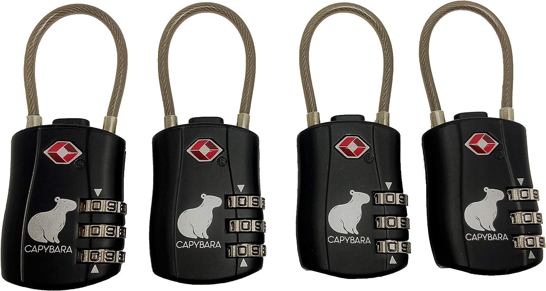Capybara TSA Locks and Luggage Scale