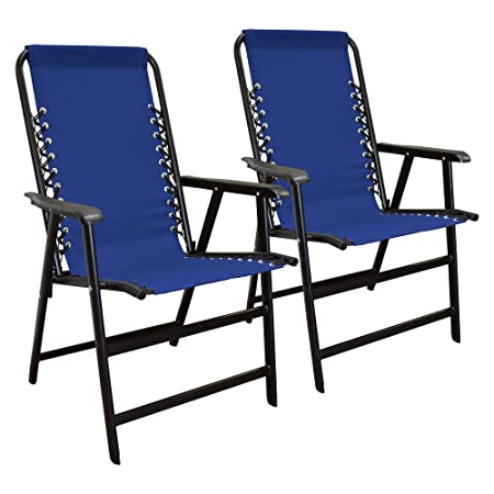 Caravan Sports Suspension Folding Chair 2pk Blue