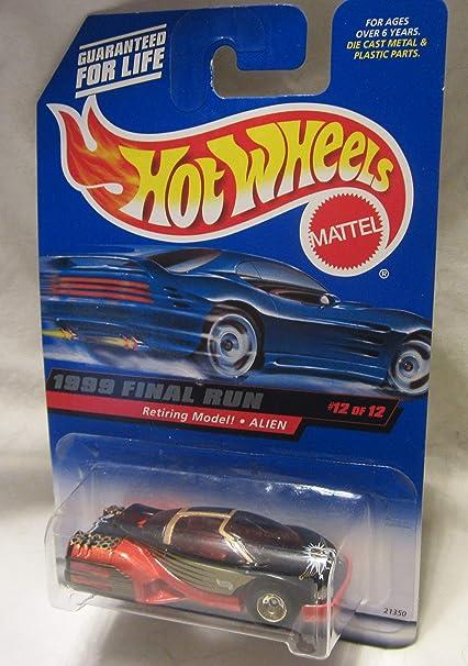 Hot Wheels 1999 Final Run Retiring Models Alien 12 of 12