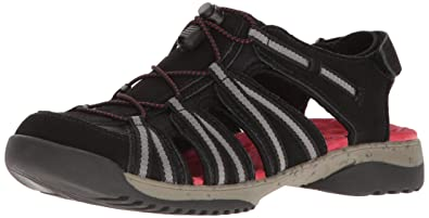 Clarks Women's Tuvia Maddee Fisherman Sandal Fashion Sandals at amazon