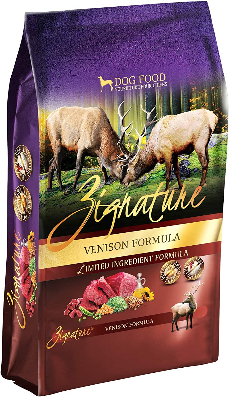 Zignature Venison Formula Grain-Free Dry Dog Food 4lb