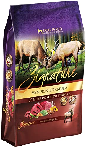 Zignature Venison Formula Dog Food