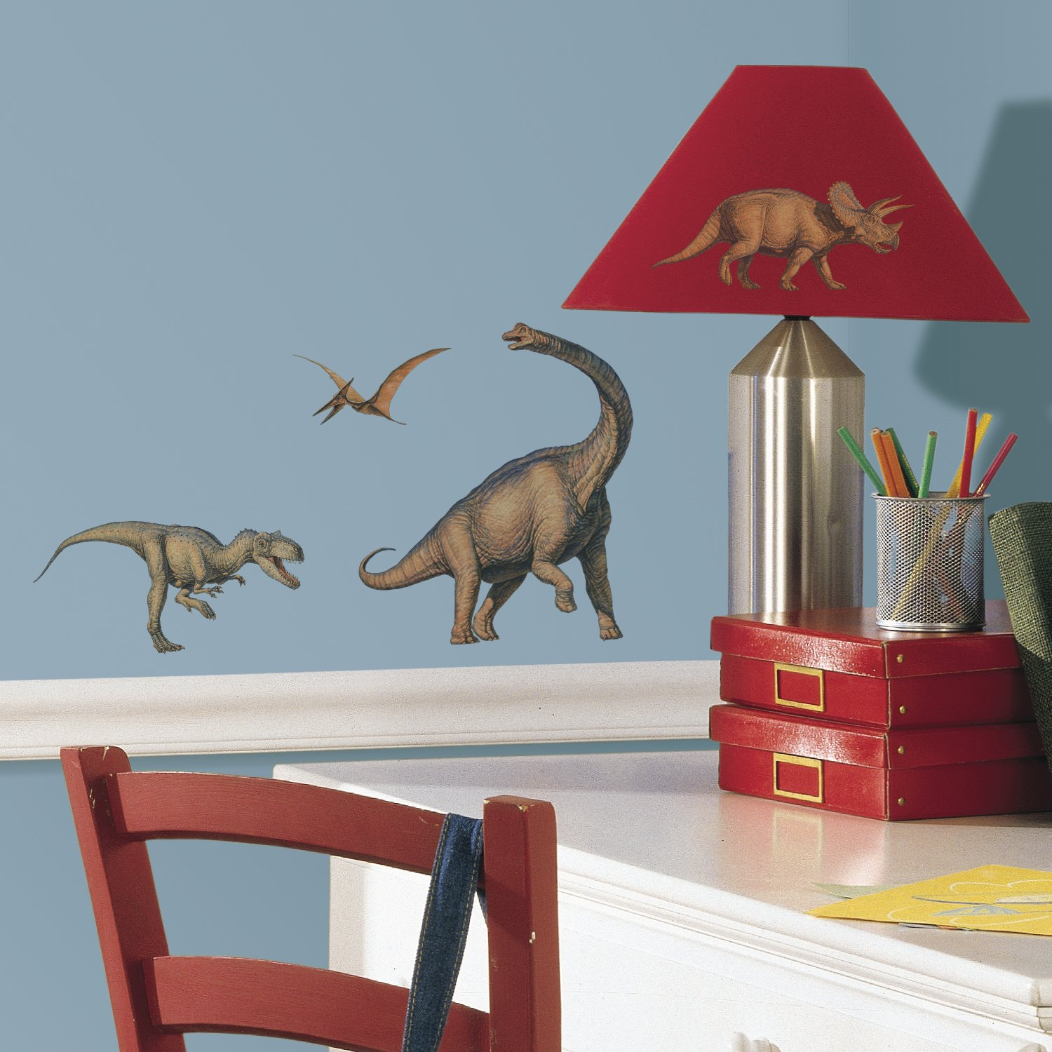 High Quality RoomMates Repositionable Childrens Wall Stickers   Dinosaurs: Amazon.co.uk:  Kitchen U0026 Home Part 9