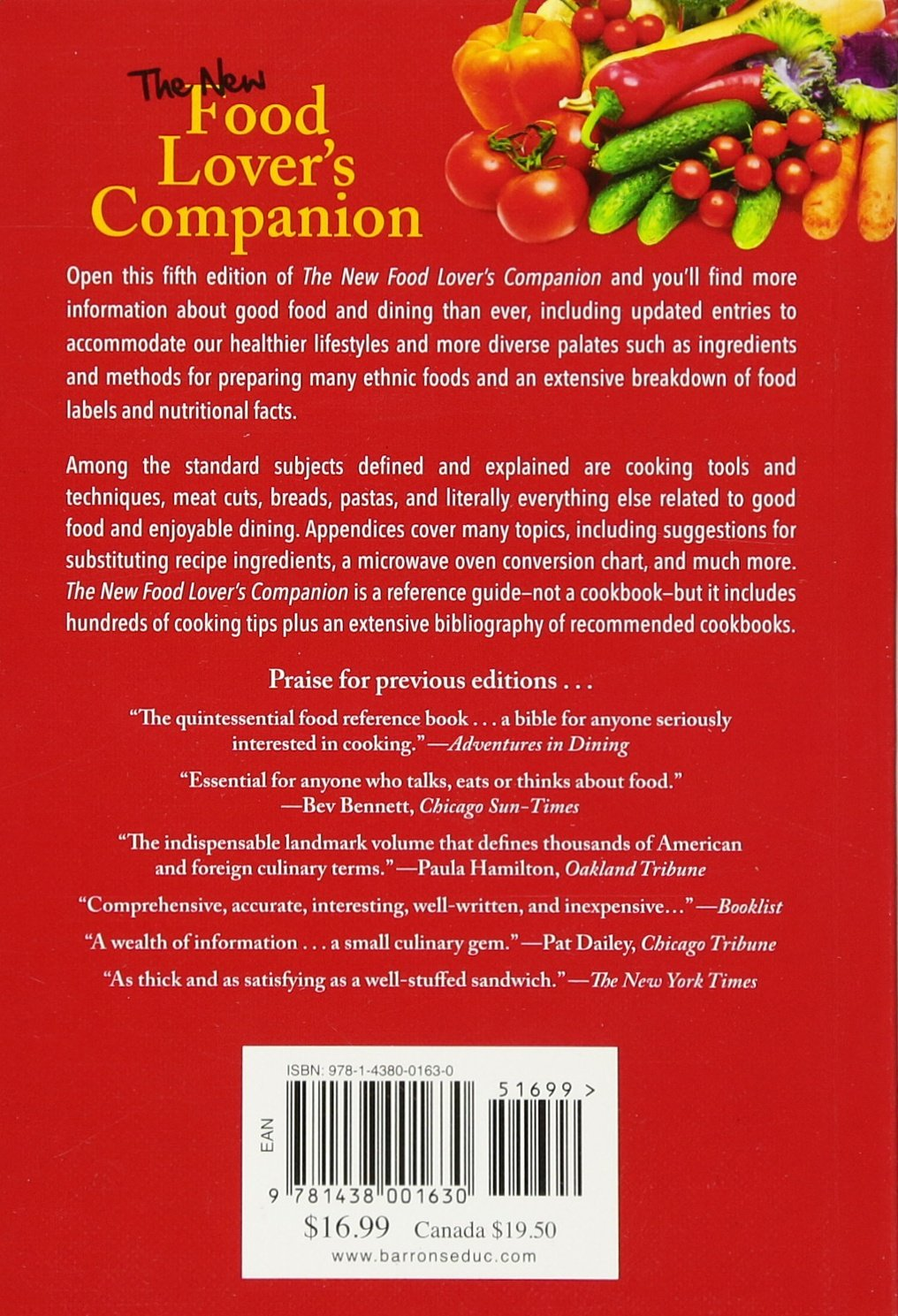 The new food lovers companion ron herbst sharon tyler herbst the new food lovers companion ron herbst sharon tyler herbst 9781438001630 amazon books forumfinder Gallery