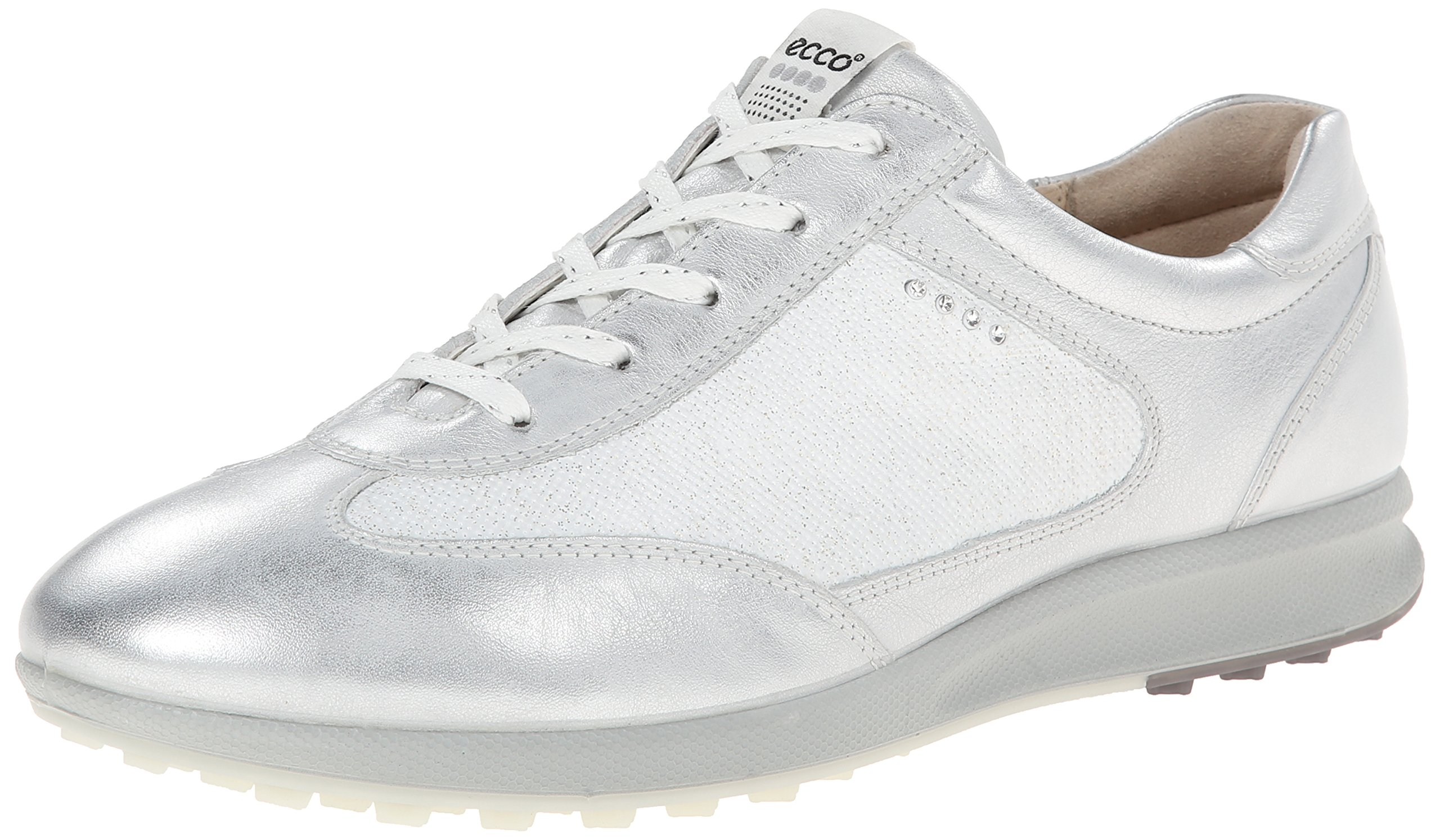 ECCO Golf Women's Street EVO One Luxe White/White Sneaker 41 (US Women's 10-10.5) B - Medium