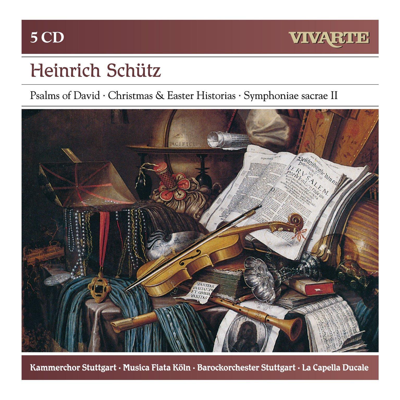 Heinrich Schütz: Psalms of David, Christmas & Easter Historias, etc