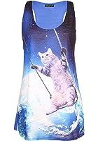 Sidecca Galactic Space Cat Pizza Tank