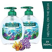 Palmolive Liquid Hand Soap Pump Aquarium Liquid Hand Wash, 300 ml - Pack of 2