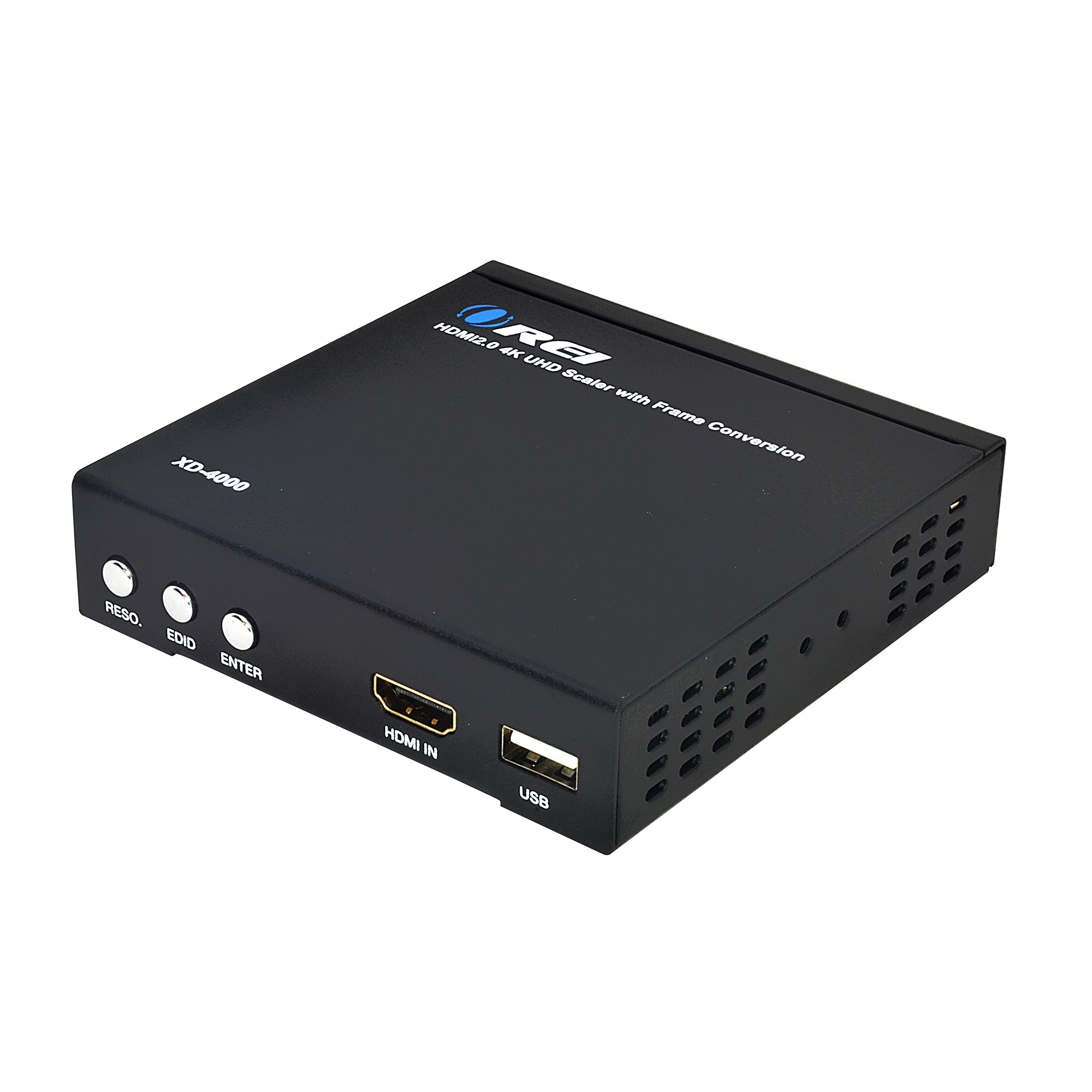 Orei XD-4000 Premium 4K@60Hz HDMI PAL to NTSC Video Converter Up Down Scaler Resolution Selector