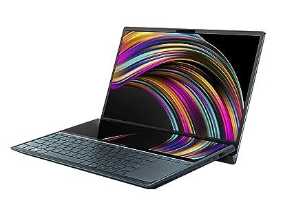 ASUS ノートパソコン ZenBook Duo UX481FL( Core i5-10210U / 8GB・SSD 512TB・Optaneメモリ 32GB / 14インチ / FHD(1920×1080×1, 1920×515×1) / WPS Office / 1.66 kg )【日本正規代理店品】UX481FL-HJ118T/A