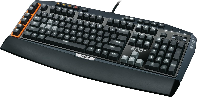 Logitech G710 + Gaming Teclado (Alemán, USB) Negro: Amazon.es ...