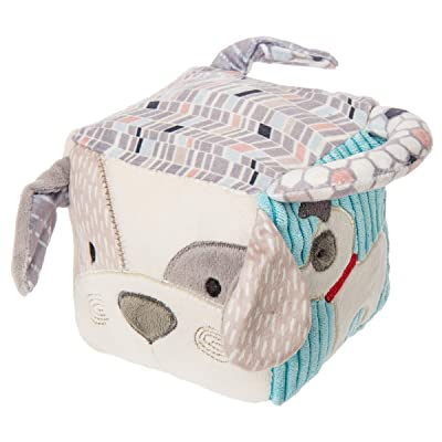 Mary Meyer Super Soft Activity Cube, Deco Pup, 4 x 4-Inches : Baby
