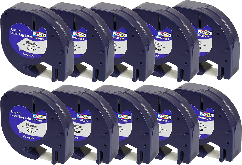 Dymo-Prägeetiketten 3er Pack blau//schwarz//rot NEU selbstklebend, 9mm x 3m