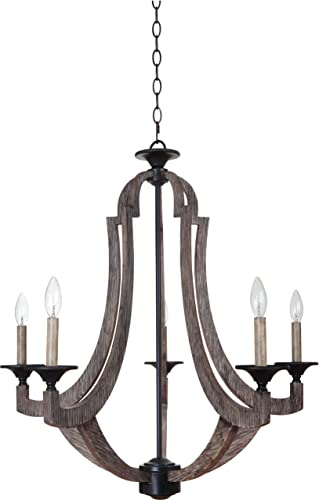 Craftmade 35125-WP 5 Light Chandelier