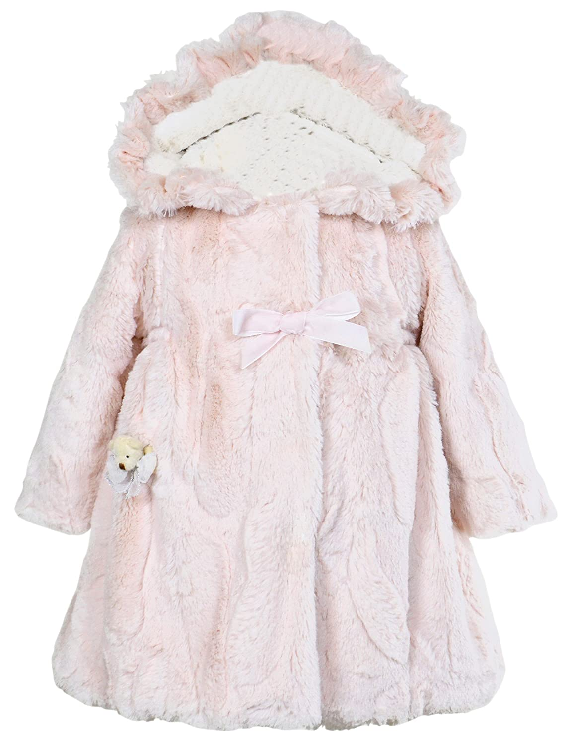 Amazon.com: Widgeon Little Girls' Hooded Big Bow Coat: Clothing