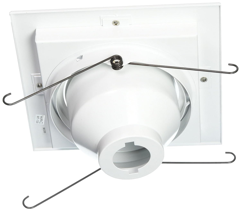 WAC Lighting MT-330-WT//BK Multi Spot Trim for Model Mt330Hs