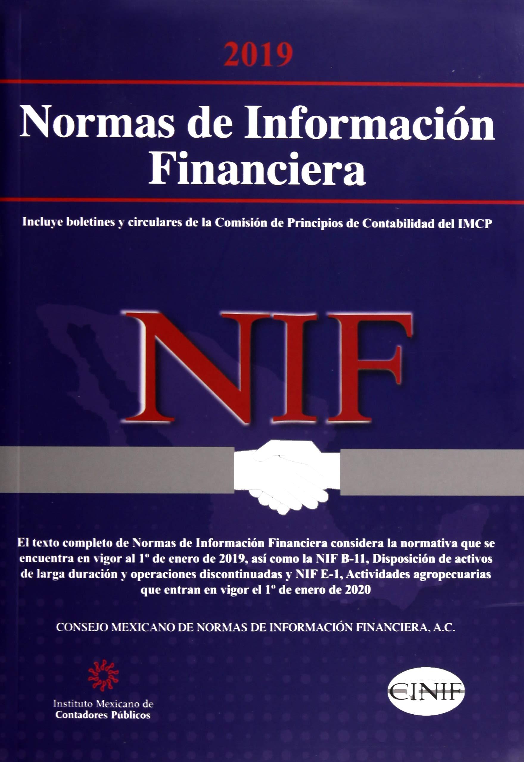 Normas de Información Financiera. Versión profesional ...
