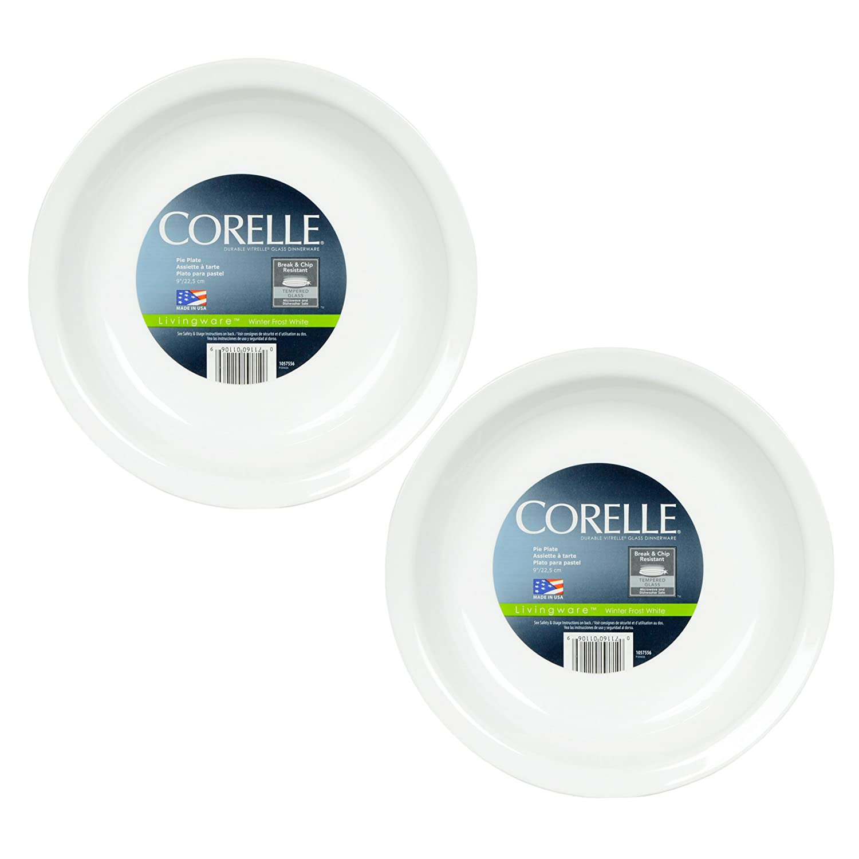 Amazon.com Corelle Livingware 9-Inch Deep Dish Pie Plate Winter Frost White Casseroles Kitchen \u0026 Dining  sc 1 st  Amazon.com & Amazon.com: Corelle Livingware 9-Inch Deep Dish Pie Plate Winter ...