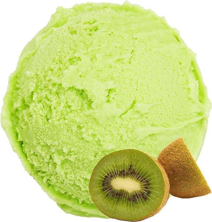 Kiwi Flavor 1Kg Polvo de hielo Gino Gelati para helado Polvo de hielo Ice Cream en polvo