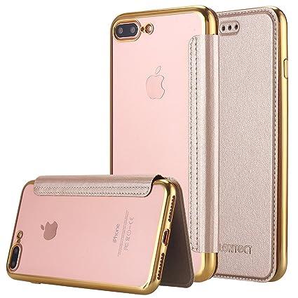 IPhone 8 Plus CaseiPhone 7 Case LONTECT Slim PU Leather Folio Flip